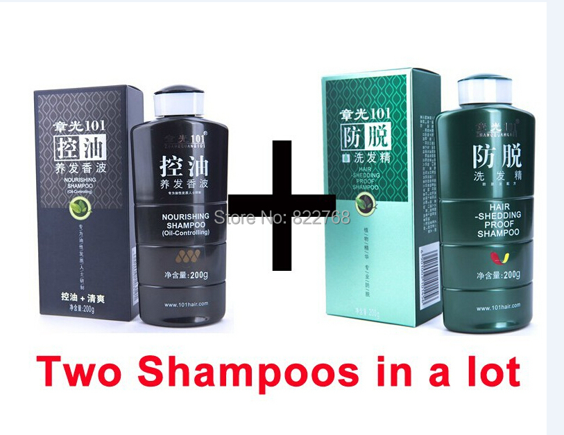 Zhangguang 101 Nourishing Shampoo oil-controlling + Hair Shedding Proof Shampoo 2x200g 2 bottles in a lot  hair oil Control adenosine's role in controlling cmro2 following hypoxia ischemia