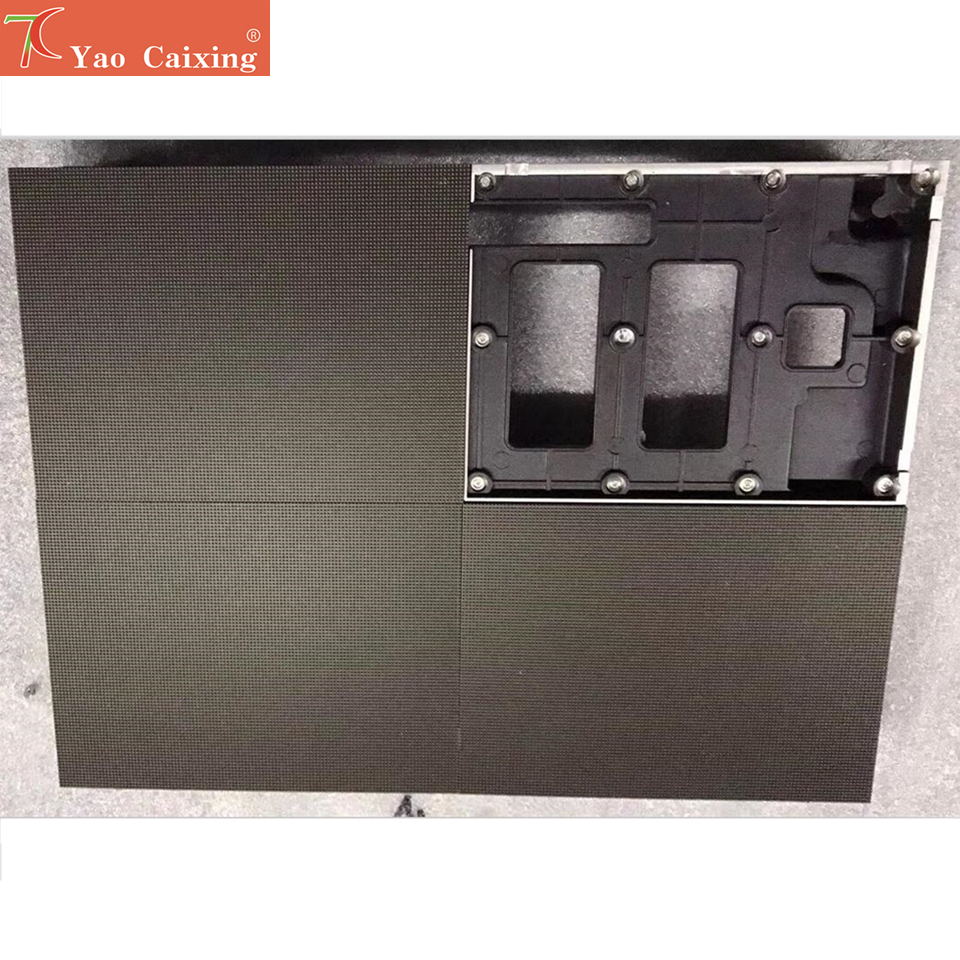 Aliexpress Smd1515 Dot Matrix P1.9 RGB LED Advertising Led Screen Aluminum Cabinet Board  High Resolution Hub75 Led Display Tv