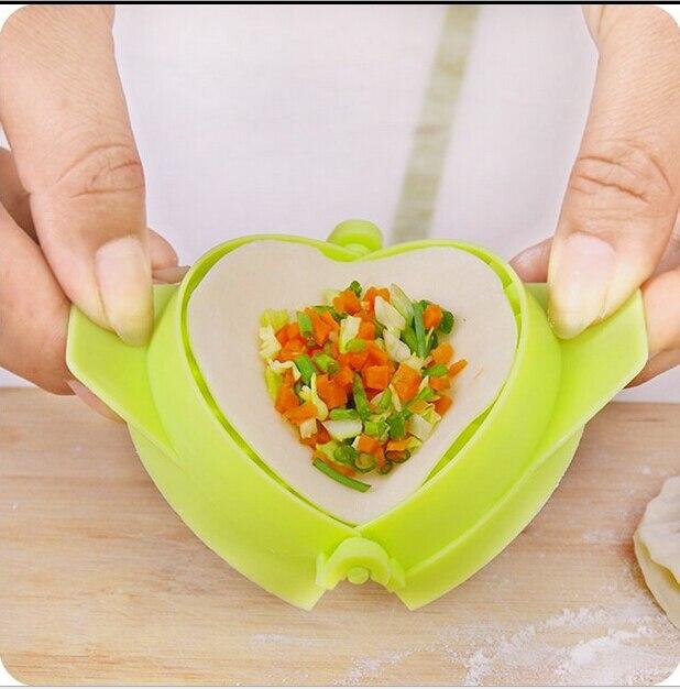 Цвет случайный 1 шт. пельмени Моделирование Инструменты Кухня магия творческий руководство пакет машины Еда класса Пластик Pinch