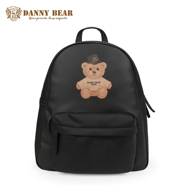 5d2e4ccff5 DANNY BEAR High School Leather Backpacks For Teenage Girls Fashion Cheap  Large Laptop Backpack Vintage Cute Travel Back Pack Bag