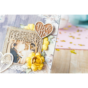 Mr Mrs Heart Frame Metal Cutting Dies For DIY Scrapbooking Embossing Wedding Paper Cards Decorative Crafts Supplies New 2018 Die
