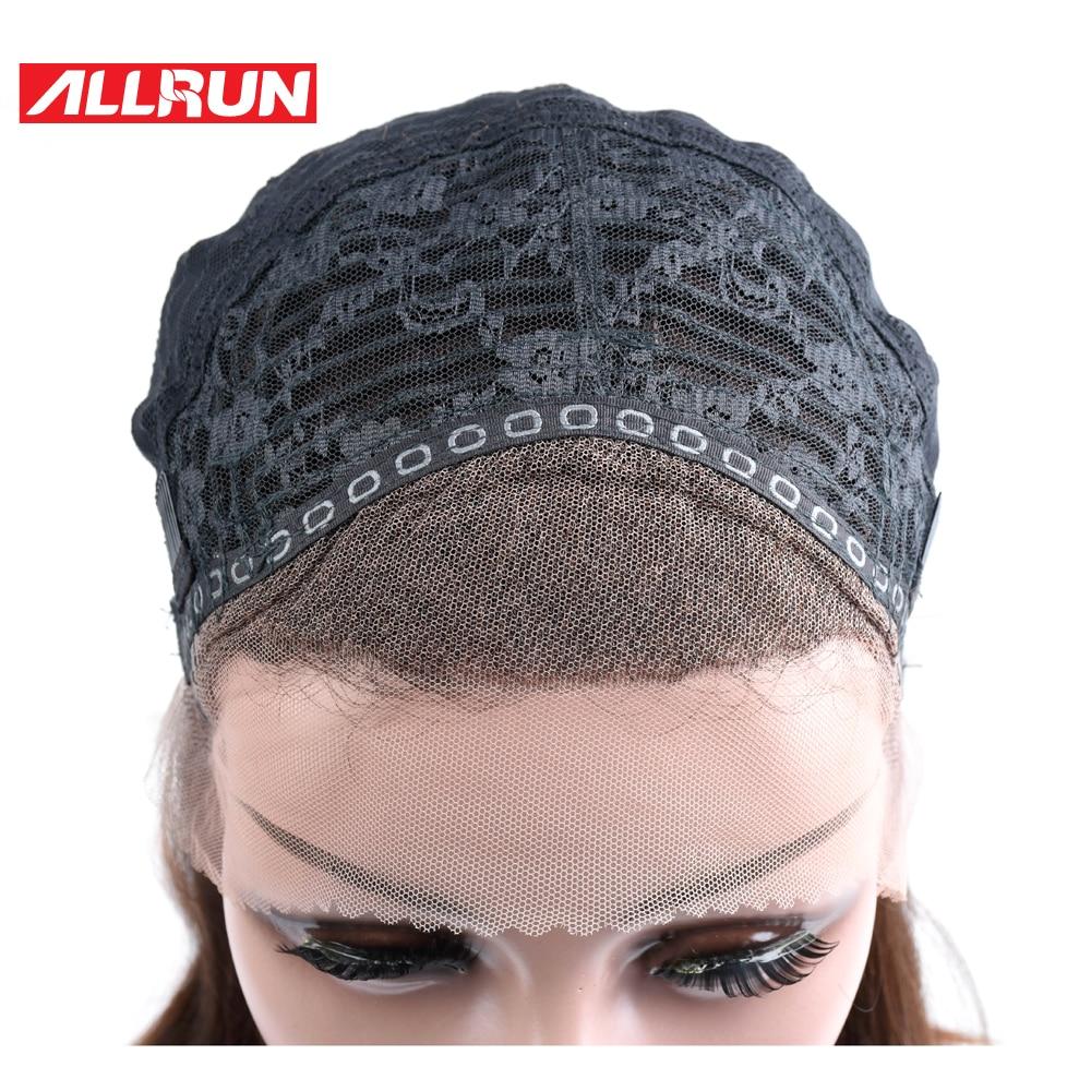 ALLRUN Βραζιλιάνα Μη Remy Hair # 4 Χρώμα 100% - Ανθρώπινα μαλλιά (για μαύρο) - Φωτογραφία 5