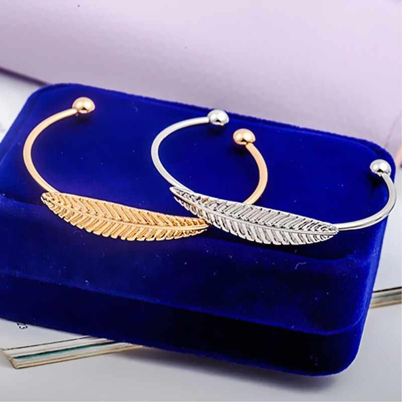 Простые креативные необычные браслеты с растительным орнаментом Открытые Браслеты на запястье для женщин эффектные браслеты Armbanden voor vrouwen Sieraden
