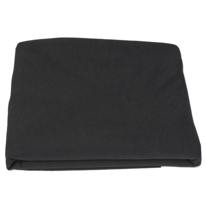 KiWarm On Sale Quality Black Speaker Grill Protective Cloth Stereo Speaker Mesh Cloth Fabric Home DIY Sewing Accessory 50x160cm