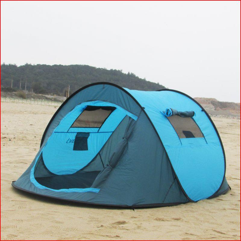 Tente de Camping rapidement ouverte tente extérieure Super légère coupe-vent et imperméable