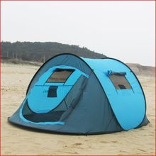 quickly open tent Camping tent Super light Windproof and rainproof Outdoor pop up tent