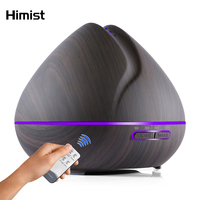 500ml Remote Control Air Aroma Ultrasonic Humidifier With Color LED Lights Electric Aromatherapy Essential Oil Diffuser