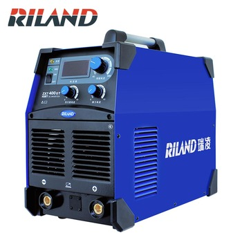 RILAND ZX7 400GT IGBT Inverter Welding Machine 380V Portable Welder Electric  Welding Devices Electric Welding MMA ARC factory supplier electric welder inverter arc welding machine circuit board