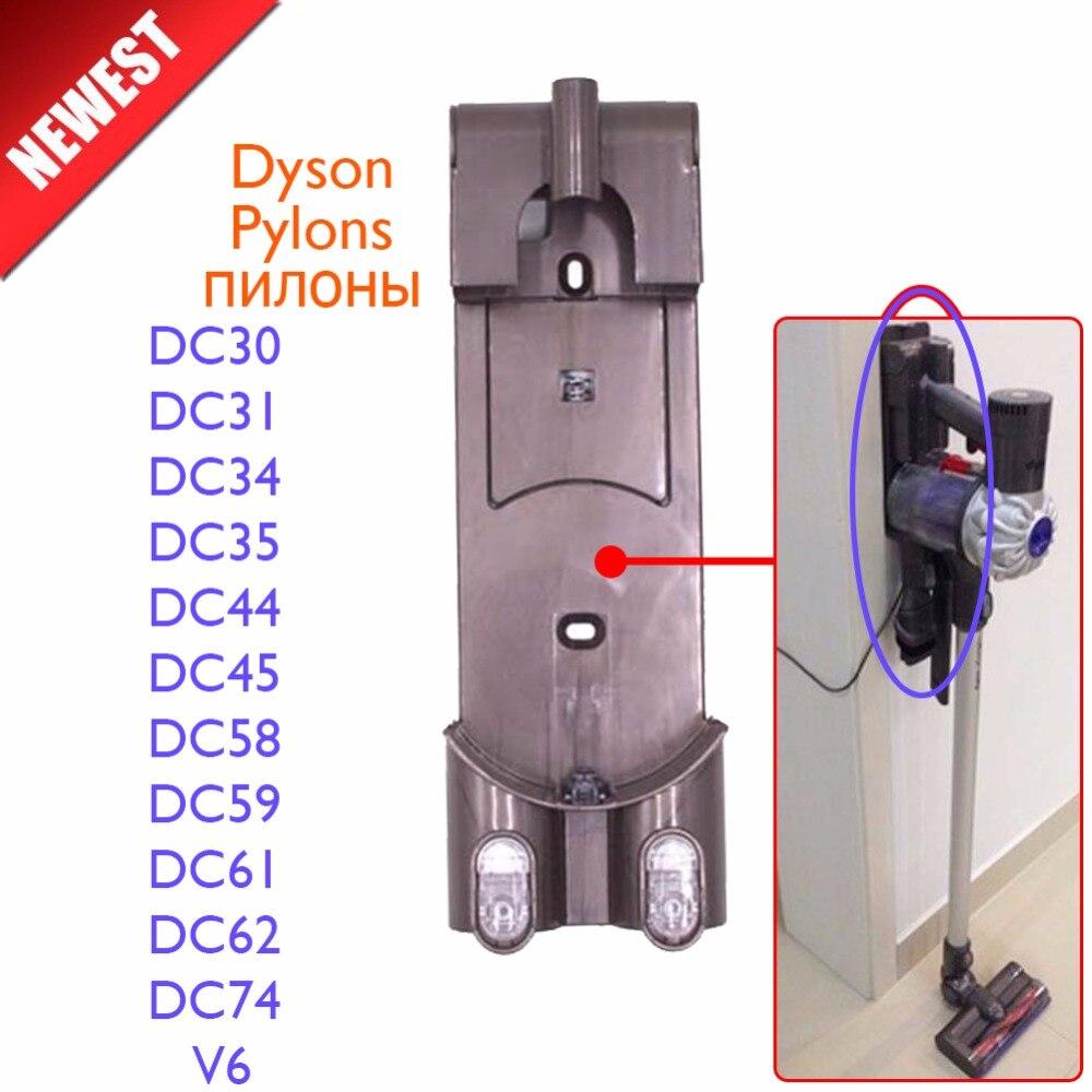 Aspirateur Pièces Pylônes chargeur cintre pour dyson DC30 DC31 DC34 DC35 DC44 DC45 DC58 DC59 DC61 DC62 DC74 V6 pas brosse filtre