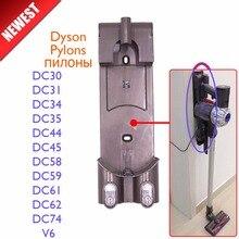 Próżniowe części do czyszczenia ładowarka pylony wieszak dla dyson DC30 DC31 DC34 DC35 DC44 DC45 DC58 DC59 DC61 DC62 DC74 V6 nie szczotka filtr