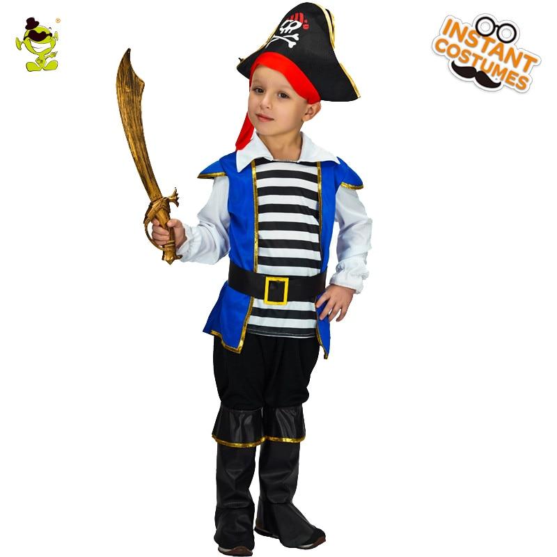 Ragazzi Deluxe Pirate Costumi di Halloween Prepotente Buccaneer e Viking Imitazione Abbigliamento Per Bambini Nobile Principe Cosplay Outfit