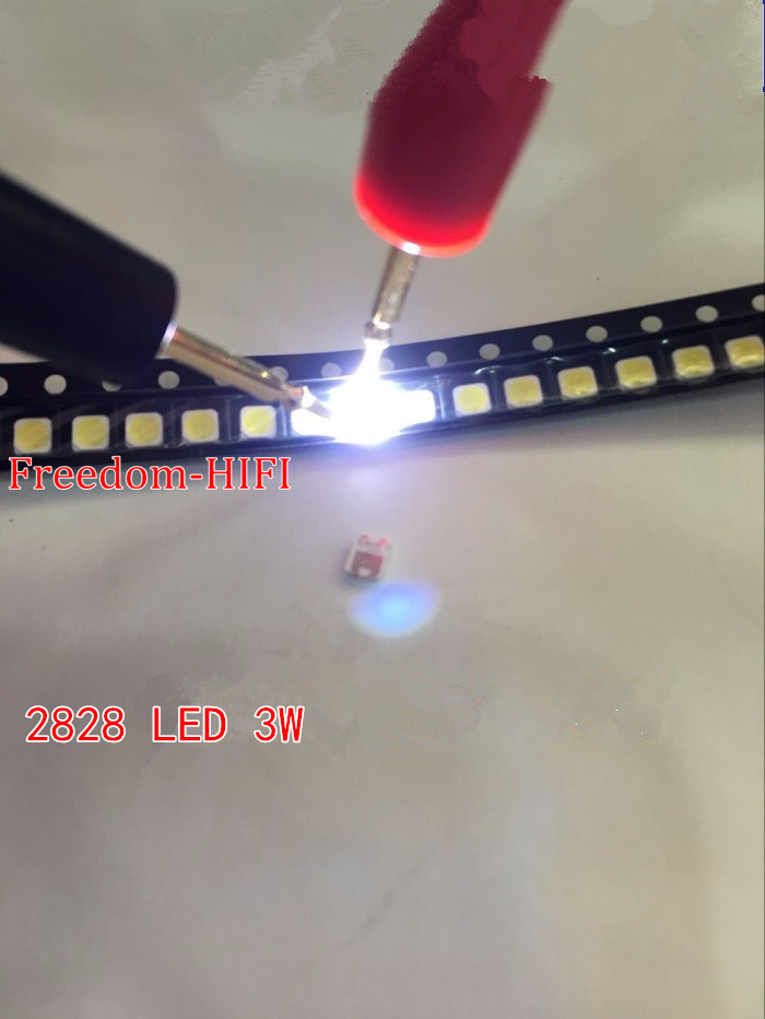 Diodes 100pcs Special Repairs 3255 Inch Led Lcd Tv Backlight Illuminated Bar Smd 2828 Led Lamp Beads 3v Special 2828 For Samsung