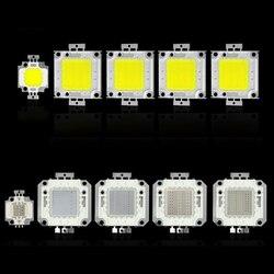 COB LEVOU Chip Lâmpada 50 30 20 10 w w w w 100 w Bulbo Chips para Holofotes Holofote Jardim praça DC 12 v 36 v Luzes LED integrado