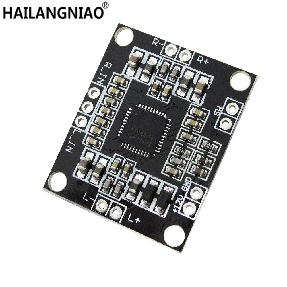 PAM8610 2x15W Amplifier Board Digital Two-channel Stereo Power Amplifier Board Miniature 4pcs lot pam8610 pam 8610 good