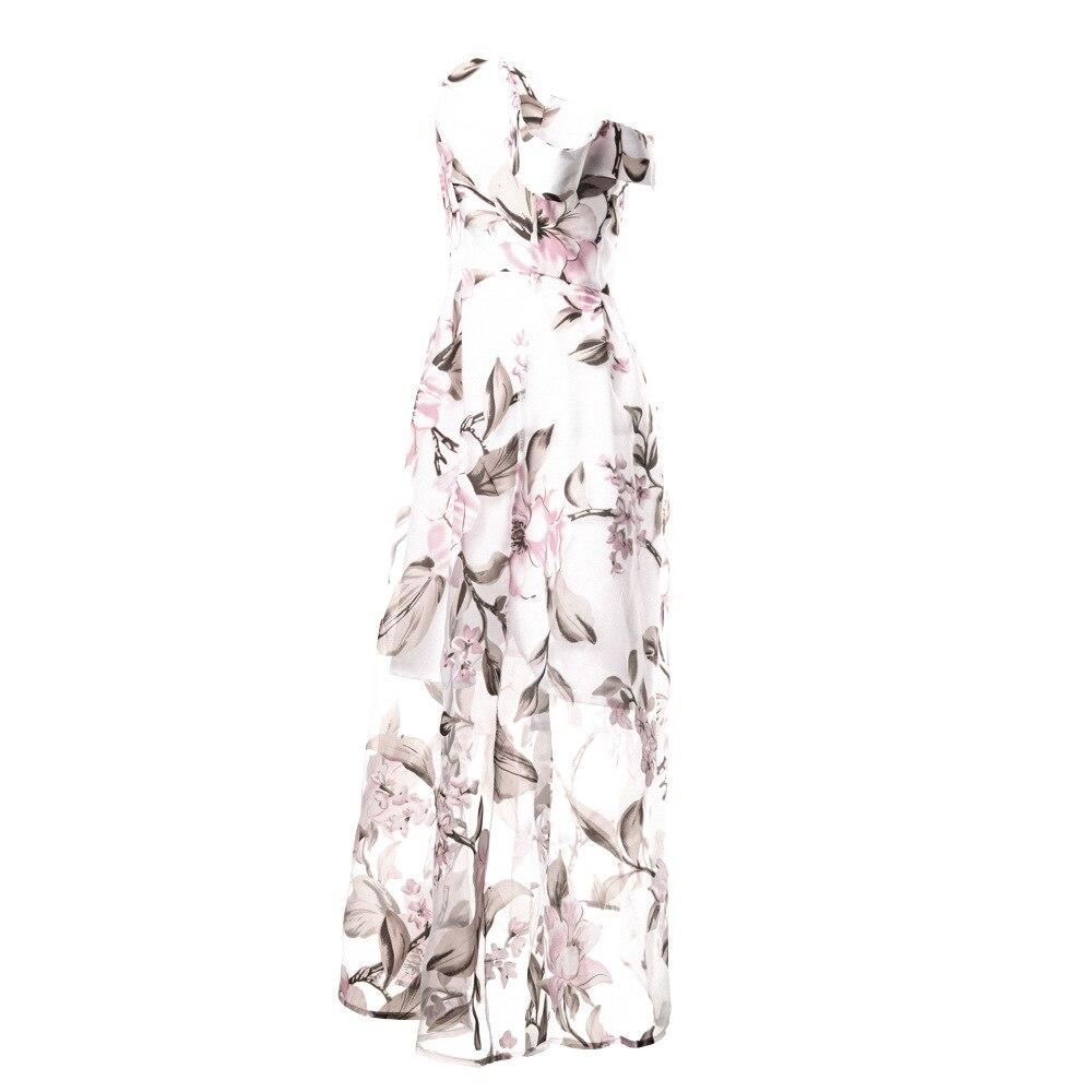 HTB1yFuGnhrI8KJjy0Fpq6z5hVXa5 - FREE SHIPPING Women Summer Dress 2018 Floral Printed Off Shoulder JKP406