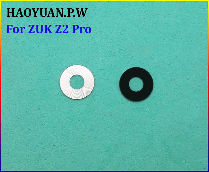 HAOYUAN.P.W New Original Housing Rear Back Camera Glass Lens With Adhesive For Lenovo ZUK Z2 Pro