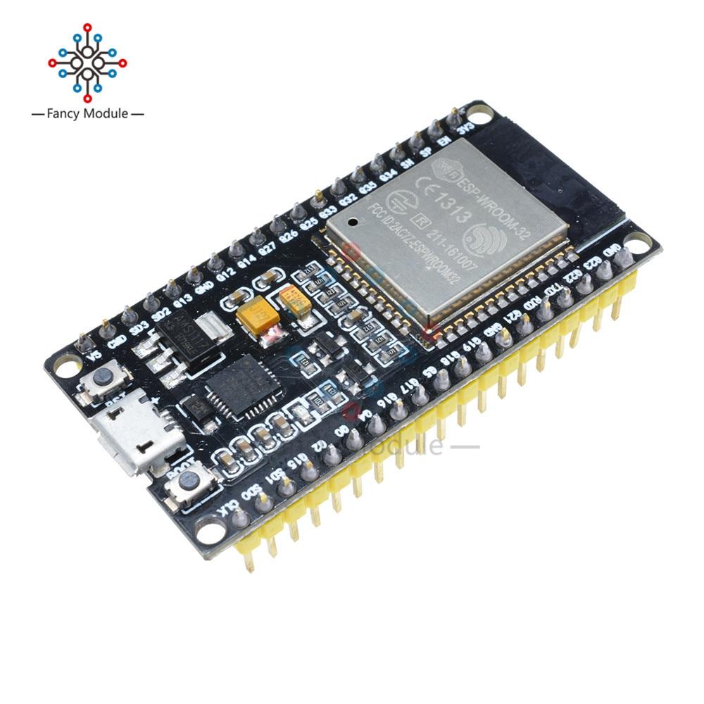 ESP32 ESP-32 Scheda di Sviluppo Senza Fili WiFi Bluetooth Dual Core CP2104 Filtri Modulo di Gestione di Potenza 2.4GHz RF Balun