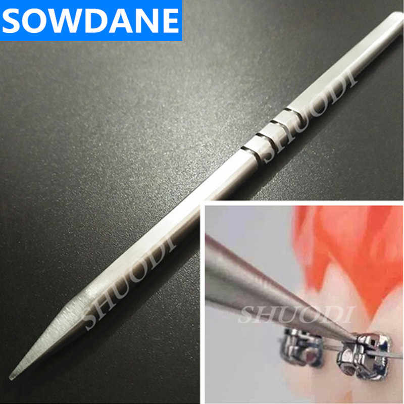 1 Piece Dental Tool Openr for Opening Orthodontic Self Ligating Passive Bracket Stainless Steel