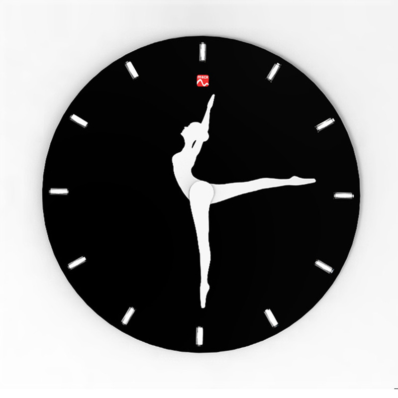 10 Inch Home Wall Soundless Dancing Clock