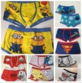 2017 New Sexy High quality 100% cotton cartoon men's Boxer / men underwear the Lilo & Stitch