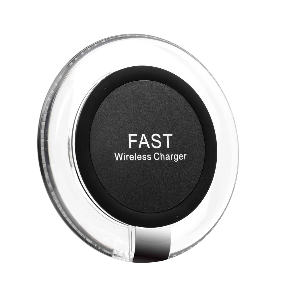 Fast Wireless Charging Pad Qi Wireless Charger 10W For iPhone Xr Xs Max X / 8 Plus Quick charger