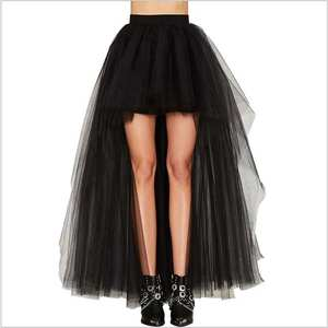c57184eb2a13f BELLYQUEEN Black Vintage Skirts Women Long Gothic Plus Size