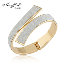 Pulseras Fashion Gold/Silver Cuff Bracelets & Bangles for Women Men Jewelry Female Charm Bracelet Pulseiras Bijoux Accessories