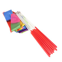 1 M Games Voor Kinderen Kinderen Speelgoed Outdoor Sport Dance Lint Gym Ritmische Gymnastiek Art Gymnastiek Ballet Streamer Twirling Rod(China)