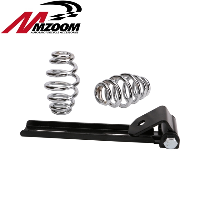 Motorcycle seat Springs & Bracket Mounting Kit for Sportster XL883 XL1200 2004-2006 2010-2015