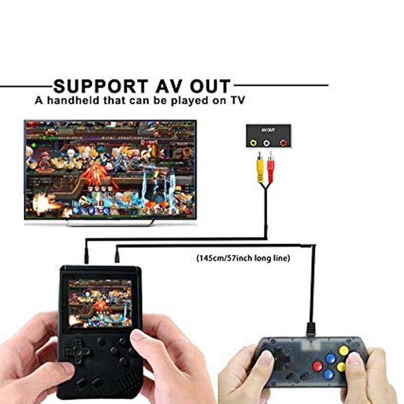 -C System Plus Extra Joystick Video Game Consoles Retro Handheld Classic Game Console F  Built-In 168 Classic Games