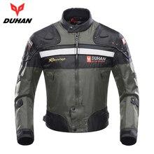 Духан мотоциклетная куртка Мотокросс Куртка Мото Для мужчин ветрозащитный Холодостойкие Костюмы мотоцикл Защитное Снаряжение для зима-осень