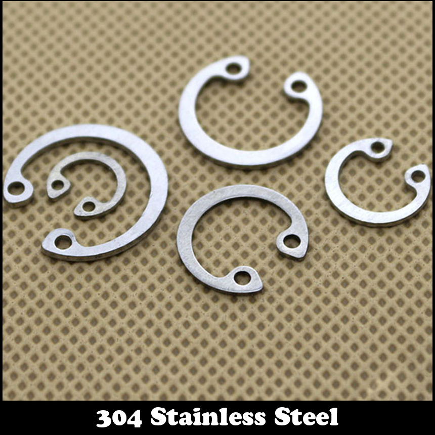 62mm Stainless Steel Internal Retaining Rings 25Pcs