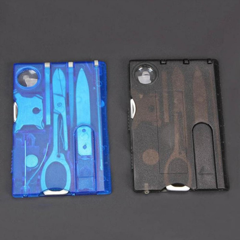 10 In1 Pocket Credit Card EDC Multi tools Outdoor Survival edc Camping equipment hiking equipment card tools