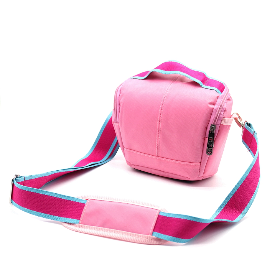 Thicker Pink Waterproof Camera Case Bag For Nikon D3300 D3200 D3100 D3000 B700 J5 J3 J1 V3 P600 P530 P520 P610S L340 L820 L840 image