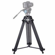 New Arrival Professional Video Camera Camcorder Tripod Heavy Duty Monopod Aluminium alloy Flexible Tripod for DSLR/SLR/Cameras kamerar 3 2 16 9 lcd viewfinder for video cameras slr cameras black red