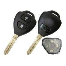 2 ШТ. * Новый Uncut Дистанционного Ключа Fob 2 Button 433 МГц 4D67 Чип для Toyota Hilux Vigo Fortuner 4 бегун B42TA