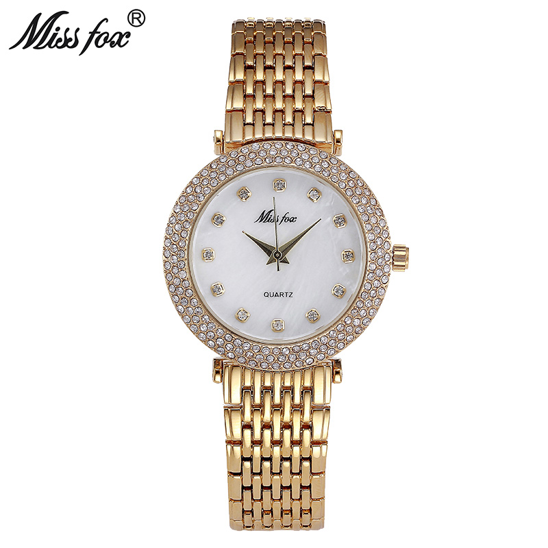 Miss Fox Shockproof Waterproof Watch Fashion Brand Imported-China Erkek Saat Diamond Carnaval Stainless Steel Bu Bayan Kol Saati недорго, оригинальная цена