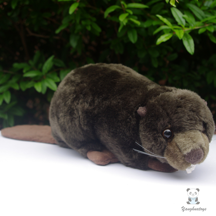 Simulation Beaver Doll  Plush Kids Toys  Beaver  Stuffed Animal  Car Toy Ornaments  Birthday Gift  Female kingdom kd 9900 ems rf electroporation beauty device