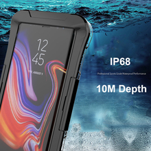 IP68 Waterproof Case for Samsung Galaxy S10 Plus S10e S8 Note 10 9 S7 edge Under Water Proof Diving Cover 360 Clear Shockproof