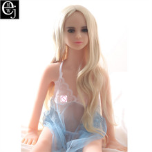 Real Silicone Sex Dolls With Metal Skeleton 125cm Sex Doll Big Breasts Adult Masturbator Japanese 3D Sex Doll For Men Male