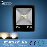 IMINOVO LED 110V 220V Flood Light 10W 20W 30W 50W Wall Lamp Spotlights Outdoor Lighting Waterproof
