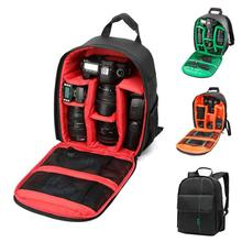 Fashion DSLR Camera Bag Backpack Video Photo Bags waterproof shockproof Wear-resistant for Camera Small Compact Camera Backpack