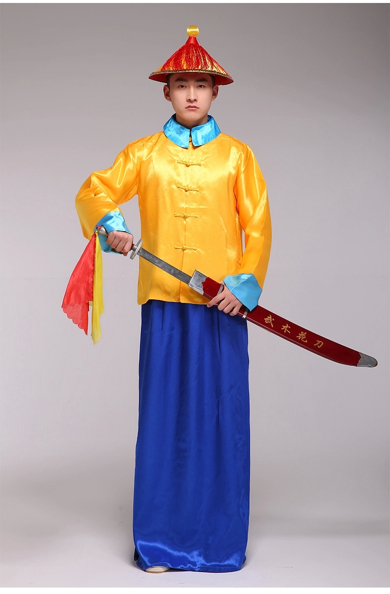 China Ancient Movie Costume Men Imperial Bodyguard ...