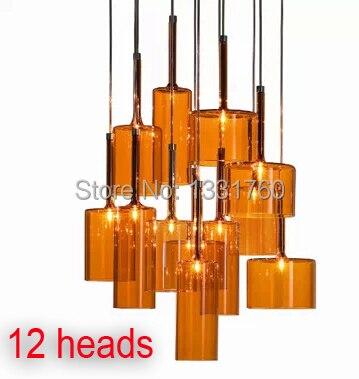 Spillray подвесной светильник из Axo Light Подвеска освещения современный стеклянные подвесные светильники столовая подвесной светильник 10, 12 гла