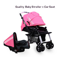 Big factory make super light 3 in 1 baby strollers travel system baby strollers send free gifts Free ship
