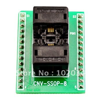 100% NEW OTS-24-0.65-01 SSOP8 TSSOP8 IC Test Socket / Programmer Adapter / Burn-in Socket (CNV-SSOP-8) 5pcs lot max208eeag max208 ssop 24 new&original electronics diy kit in stock ic components