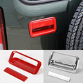Newest Rear Trunk Lift Gate Door Handle Trim Cover  Interior Accessories ABS For SUZUKI JIMNY Free Shipping
