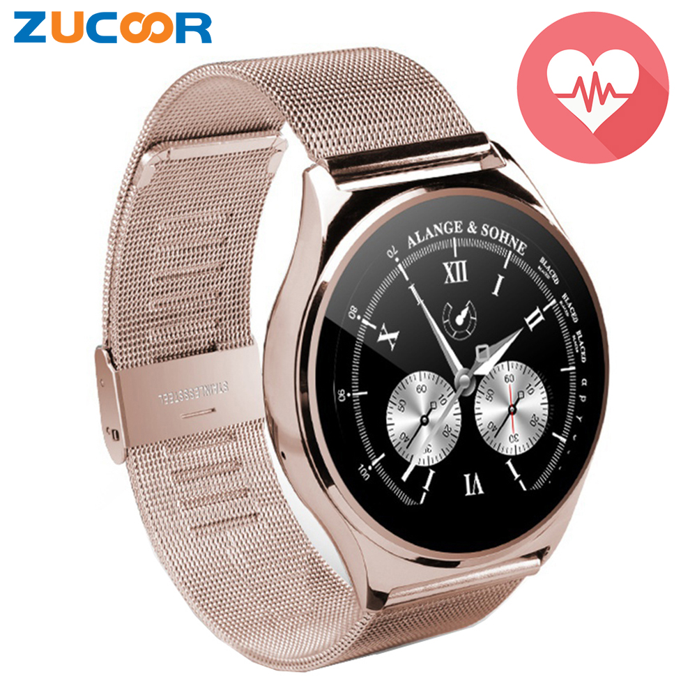 US03 Round Smart Watch Sport Clock Heart Rate Monitor ...