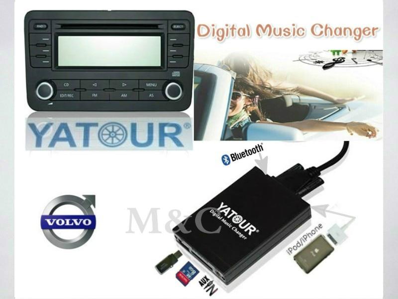 Yatour Digital Media Changer USB SD Aux iPod Interface For Volvo HU-XXX Radio