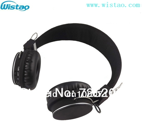 Free Shipping Bluetooth 2.1 plus EDR HIFI Stereo  Headphone for PC and smart phone support TF card  Handfree Support Playing MP3